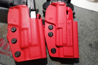 Comptac The International and Paddle Holster Side by Side