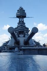 The Big Guns on the Battleship Texas