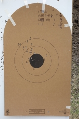 Left target from 02/09/2013