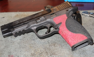 S&W M&P 9 Pro A1 with Broken Slide Stop